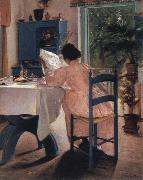 at breakfast Laurits Andersen Ring