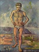 Bather Paul Cezanne