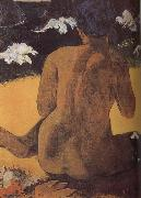 Beach woman Paul Gauguin