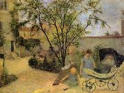 Garden in Vaugirard Paul Gauguin