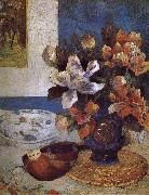Flower still life Paul Gauguin