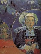 Beautiful angel Paul Gauguin