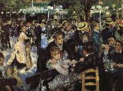 Red Mill Street dance renoir