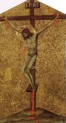 Christ on the Cross Simone Martini