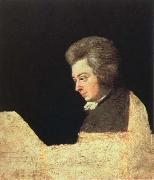 mozart at the pianoforte joseph lange