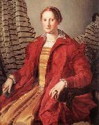 Portrait of a Lady Agnolo Bronzino