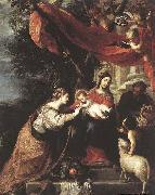 The Mystic Marriage of St Catherine CEREZO, Mateo