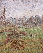 autumn morning Camille Pissarro