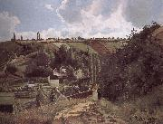 Loose multi-tile this Canada thunder hillside Camille Pissarro