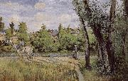 Multi pont de-sac under the sun Schwarz Camille Pissarro
