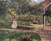corner of the garden Camille Pissarro