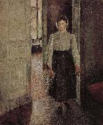 young woman Camille Pissarro