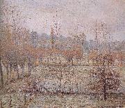 Morning frost Camille Pissarro