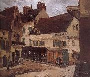 Loose multi tile this s house Camille Pissarro