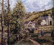 Loose multi tile this Ahe rice Tash s scenery Camille Pissarro