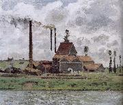 Metaponto factory near Watts Camille Pissarro