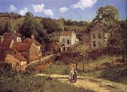 Loose multi-tile this Ahe rice Tash foot Camille Pissarro