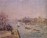 early in the Louvre Camille Pissarro
