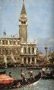Return of the Bucentoro to the Molo on Ascension Day Canaletto
