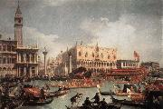 The Bucintore Returning to the Molo on Ascension Day c Canaletto