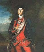 George Washington in uniform, as colonel of the First Virginia Regiment Charles Willson Peale
