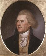 Portrait of Thomas Jefferson Charles Willson Peale