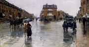 Regentag in Boston Childe Hassam