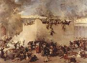 Destruction of the Temple of Jerusalem Francesco Hayez