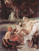 Bathsheba Bathing Francesco Hayez