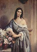 Melancholy Thought Francesco Hayez