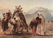 Meeting of Jacob and Esau Francesco Hayez