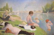 Bathers at Asnieres Georges Seurat