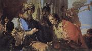 Joseph received the hand of Pharaoh, Central Giovanni Battista Tiepolo