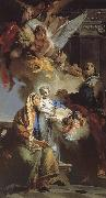 Our Lady of the education Giovanni Battista Tiepolo