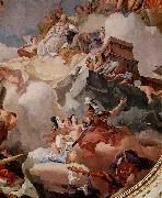 Apotheosis of Spain in Royal Palace of Madrid. Giovanni Battista Tiepolo