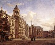 The New Town Hall in Amsterdam after HEYDEN, Jan van der