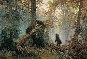 Morning in a Pine Forest Ivan Shishkin