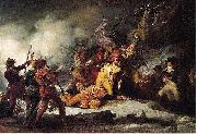 The Death of Montgomery in the Attack on Quebec John Trumbull
