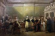 General George Washington Resigning his Commission John Trumbull