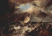 Calais Pier William Turner