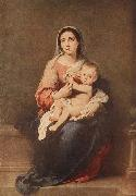 Madonna and Child MURILLO, Bartolome Esteban