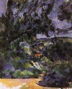 blue landscape Paul Cezanne