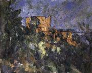 Black Castle Paul Cezanne