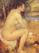 Seating Girl, renoir