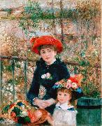 On the Terrace, renoir