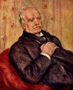 Portrait of Paul Durand Ruel, renoir