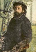 Portrait of Claude Monet, renoir