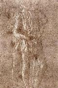 Study of two standing figures Botticelli