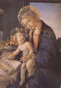 Son of Our Lady of teaching reading Botticelli