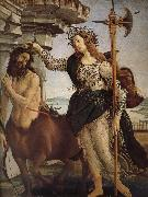 Minerva and the Orc Botticelli